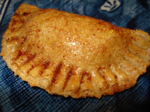 Baked Cinnamon Apple Empanadas - Collegiate Cook