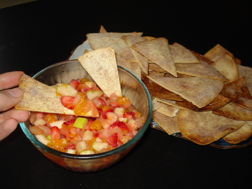 Fruit salsa for parties