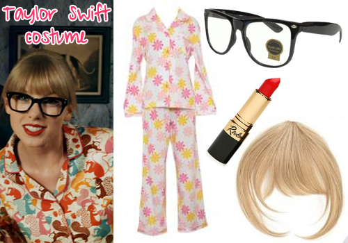 2012 pop culture halloween costumes collegiate cook - What Was Taylor Swift For Halloween