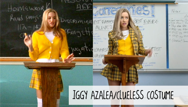 Halloween Iggy Azalea/Clueless Costumes , Collegiate Cook