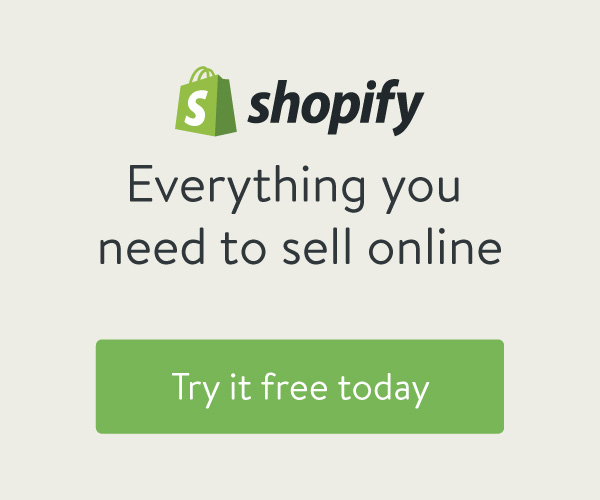 We've partnered with Shopify!