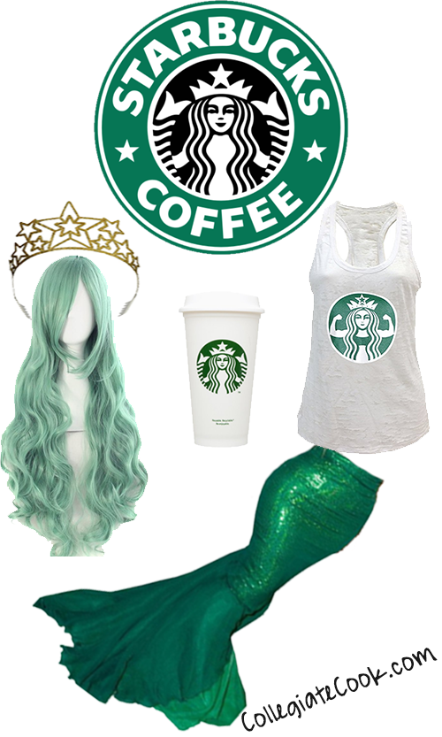 siren-costume  sc 1 st  Collegiate Cook : starbucks costume ideas  - Germanpascual.Com